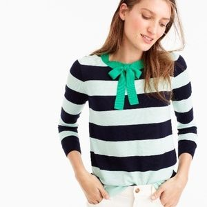 J. Crew Tippi Tie-neck Sweater